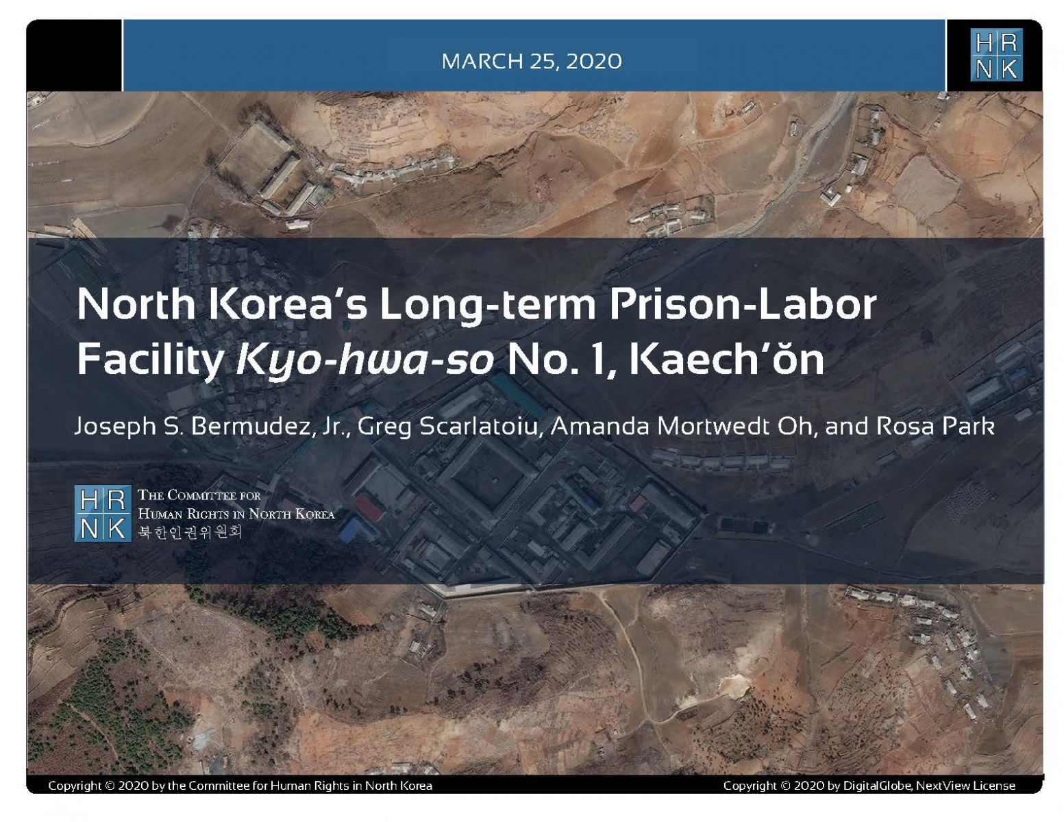 North Korea's Long-term Prison-Labor Facility Kyo-hwa-so No. 1, Kaech'ŏn