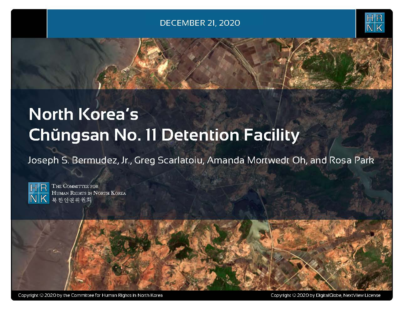 North Korea's Chŭngsan No. 11 Detention Facility