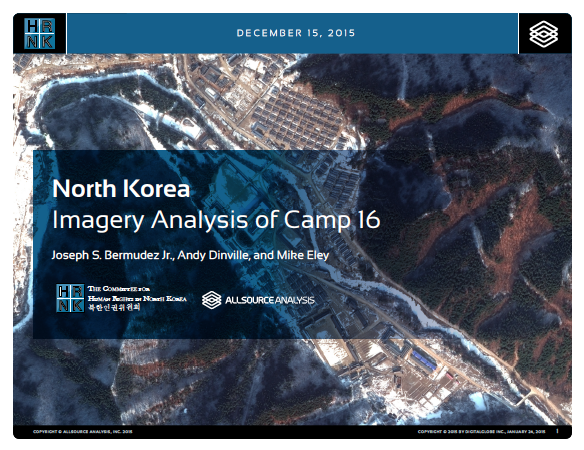 North Korea Imagery Analysis of Camp 16