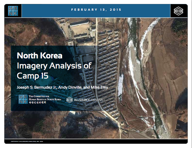 North Korea: Imagery Analysis of Camp 15
